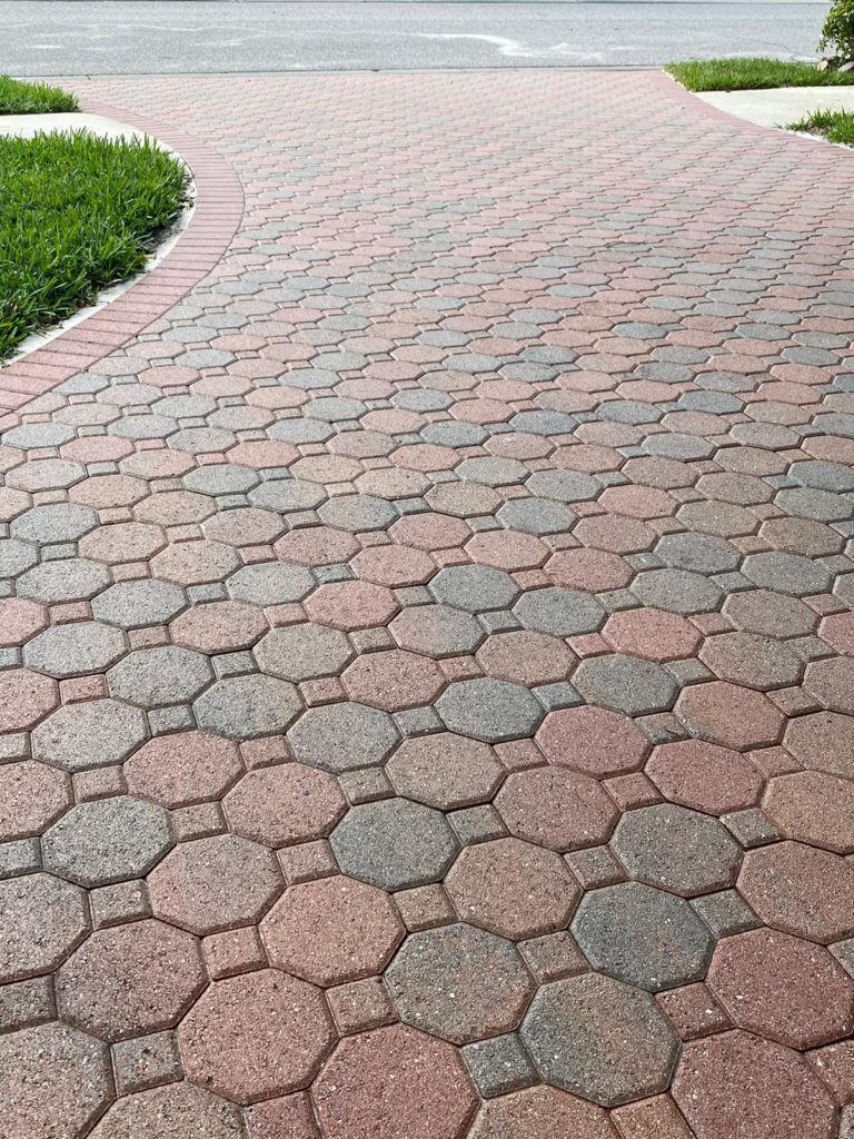 a perfectly installed driveway!