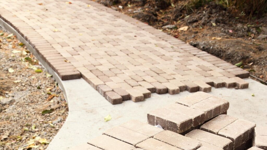 Can Pavers Be Installed Over Concrete, Put Pavers Over Concrete Patio