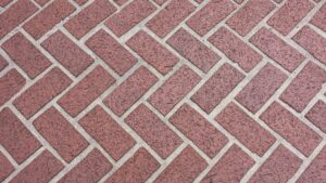 can you grout pavers?