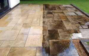 cleaning and sealing pavers